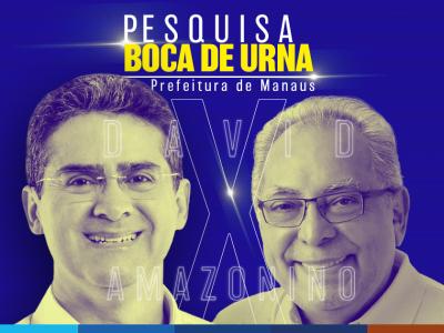 Boca de Urna: David Almeida 51,5% versus Amazonino Mendes 48,5%