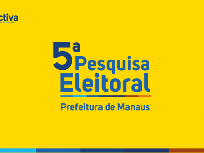Eleições 2020: Amazonino 30,0%, David Almeida 15,2% e José Ricardo 10,3%