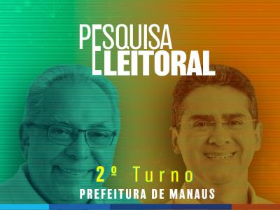 Segundo Turno 2020: David Almeida 53% e Amazonino 47%