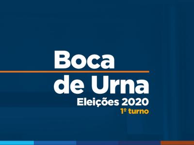 Boca de Urna: Amazonino 29,0%; David Almeida 22,0%;  Zé Ricardo 13,0%; Nicolau 11,5%